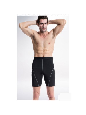 Comfortable Men's Cool Dry Athletic Performance Short Pants CF2216 black