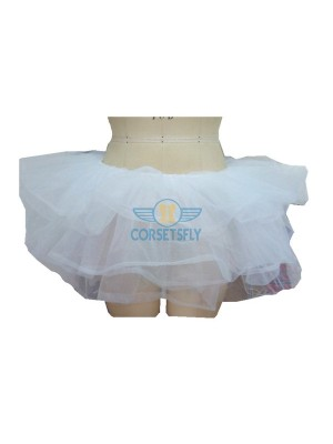 Princess Costume Ballet Warrior Dash Run Running Skirt Tutu Rave Tulle Skirt CF6520 White