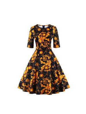Wholesale Cheap Plus Size 1950s Pinup Vintage Rockabilly Dresses ...