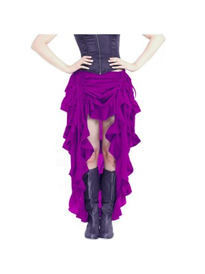 Womens Steampunk Victorian Gothic Costume Skirt