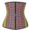 Waist Trainer for Weight Loss Latex Workout Cincher Hourglass Corset CF9006 Multi_01