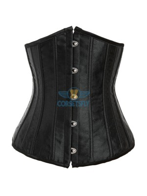 24 Double Spiral Steel Boned Underbust Heavy Duty Waist Training Corset CF7513