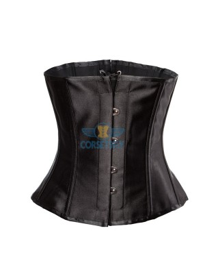 Bridal Satin High Density Steel Boned Waist Training Corset Tops CF7510