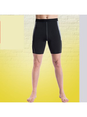 Comfortable Men's Muscle Fitness Shorts Tights Sportswear CF2232 black