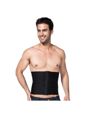 Men Clasp Compression Body Shaper Slim Waistband CF2025 black