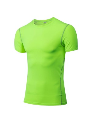Men's Body Compression Athletic Stretch Shirt CF2203