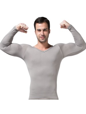 Men's Body Shaper Compression Long Vest CF2004
