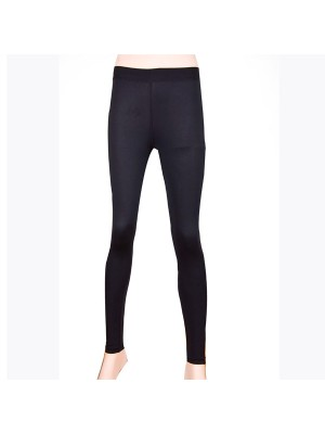 Women's Dry Fit Athletic Compression Long Pants CF2237 black
