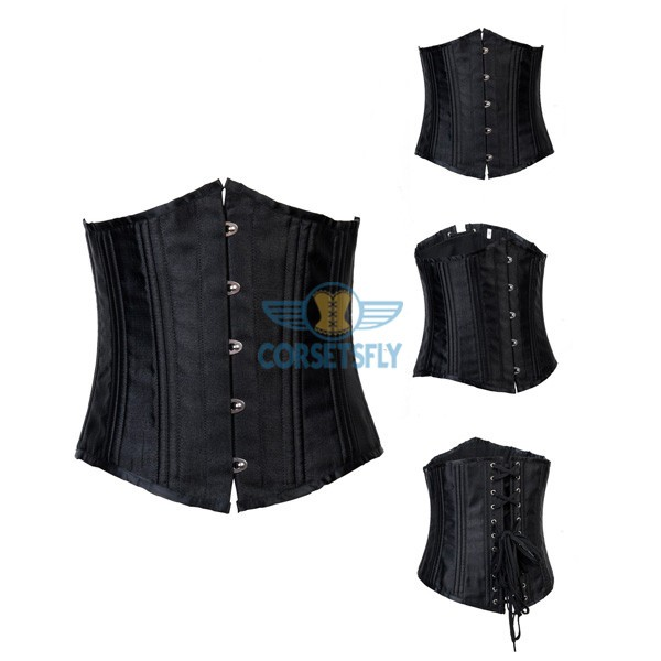 24 Flexible Double Steel Bones Super Strength Waist Training Corset CF7533_14