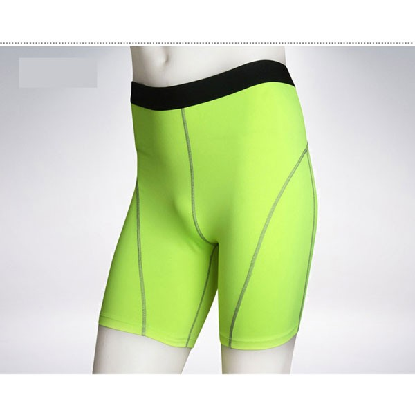 Comfortable Men's Cool Dry Athletic Performance Short Pants CF2216 green