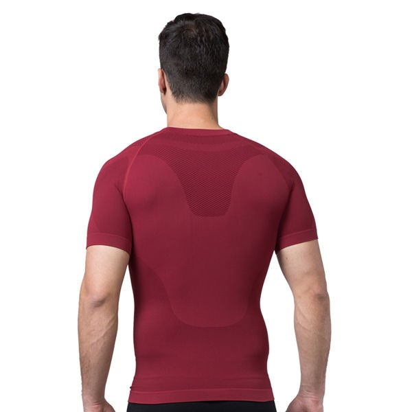 Comfortable Mens Cool-Dry Compression Vest CF2016 red_02
