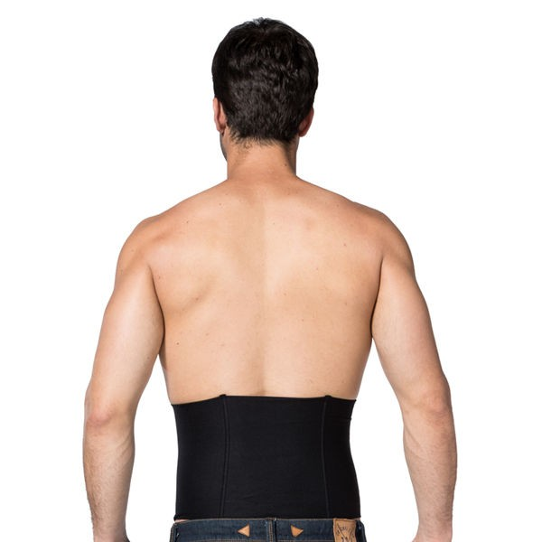 Men Clasp Compression Body Shaper Waistband CF2024 black_02