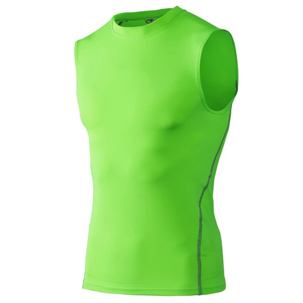 Men's Body Fitness Performance Vest CF2202 green_01