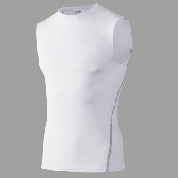 Men's Body Fitness Performance Vest CF2202 white_01