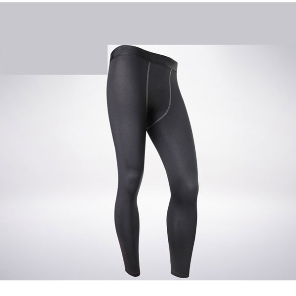 Men's Body Muscle Long Running Fitness Tights Pants CF2212 black_01