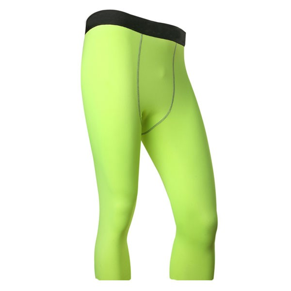 27b067b642e Men s Compression Baselayer Athletic Performance Pants CF2224 green ...