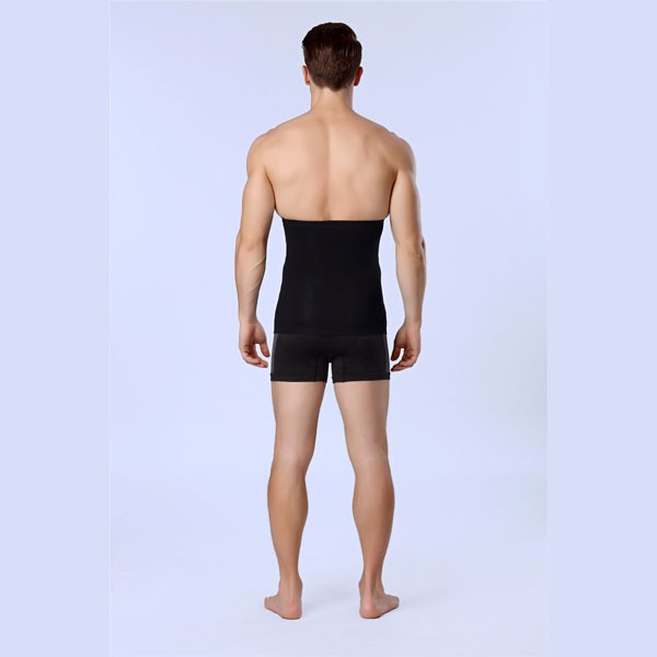 Men Slimming Compression Body Shaper Diamond Short Underpants CF2101 black_04