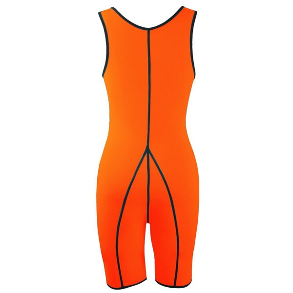 Neoprene Sweat Sauna Shirt Slimming Body Loss Weight Shapewear CF9060 Orange_03