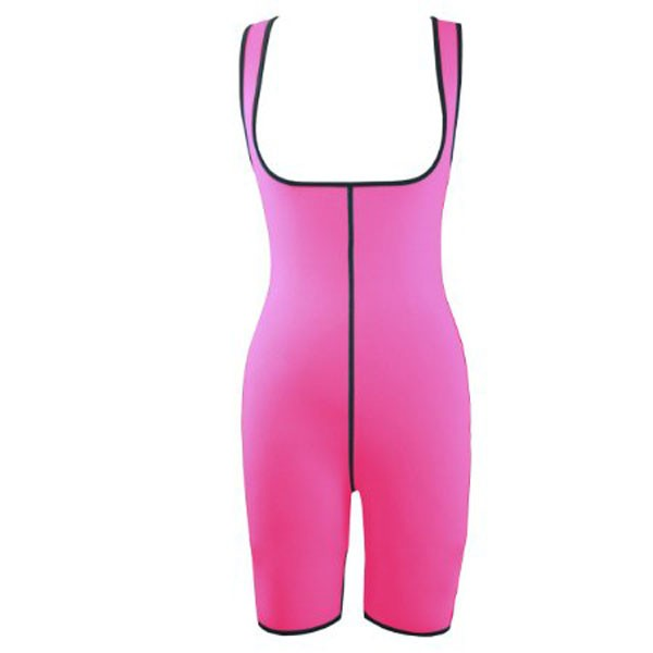 Neoprene Sweat Sauna Shirt Slimming Body Loss Weight Shapewear CF9060 Pink_01