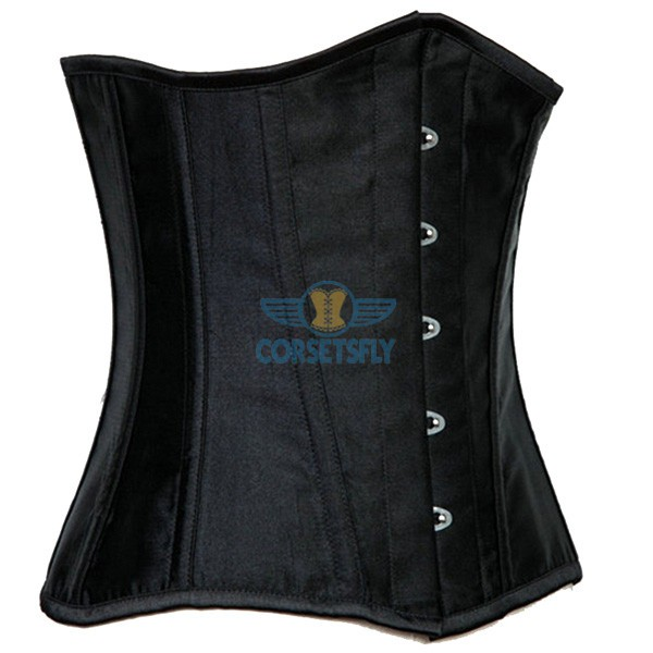 Tight Lacing Hourglass Silhouette Waistline Training Slimming Steel Bones Corset CF7532_01