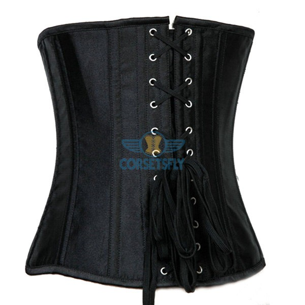 Tight Lacing Hourglass Silhouette Waistline Training Slimming Steel Bones Corset CF7532_02