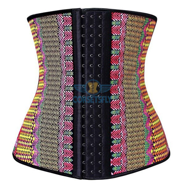 Waist Trainer for Weight Loss Latex Workout Cincher Hourglass Corset CF9006 Multi