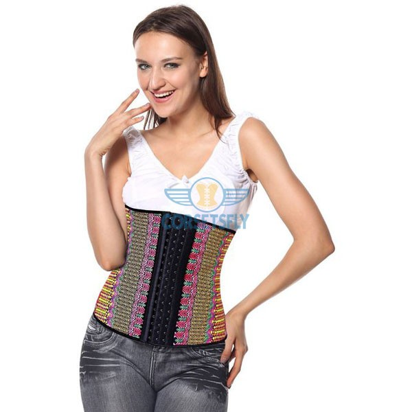 Waist Trainer for Weight Loss Latex Workout Cincher Hourglass Corset CF9006 Multi_04