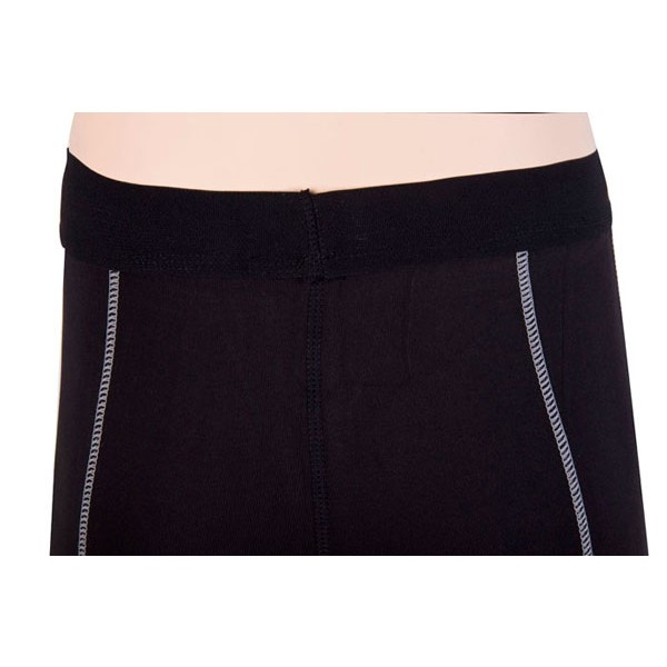Women's Dry Elastic Athletic Compression Shorts CF2233 black_04