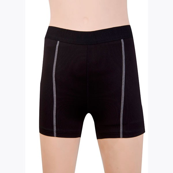 Women's Fit Elastic Athletic Compression Shorts CF2235 black